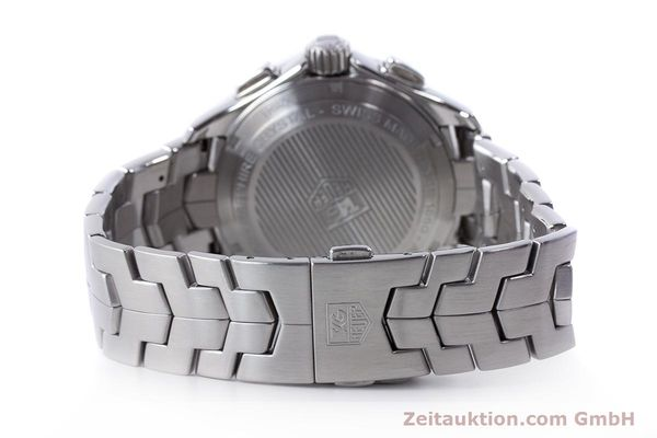 Used luxury watch Tag Heuer Link chronograph steel automatic Kal. 16 ETA 7750 Ref. CAT2011  | 160637 12