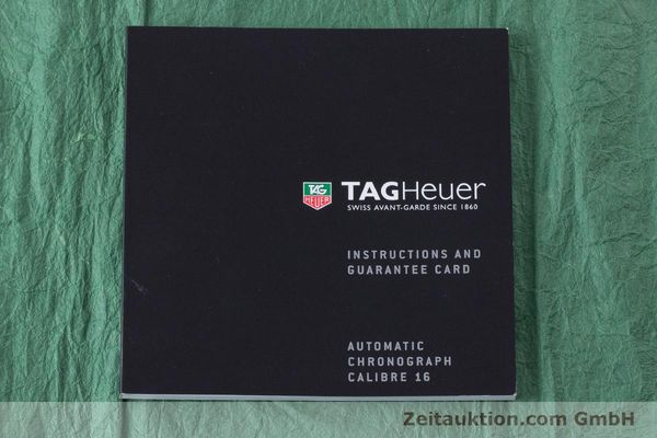 Used luxury watch Tag Heuer Link chronograph steel automatic Kal. 16 ETA 7750 Ref. CAT2011  | 160637 13