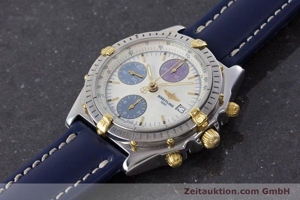 Used luxury watch Breitling Chronomat chronograph steel / gold automatic Kal. B13 ETA 7750 Ref. B13050.1  | 160641 01