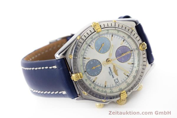 Used luxury watch Breitling Chronomat chronograph steel / gold automatic Kal. B13 ETA 7750 Ref. B13050.1  | 160641 03