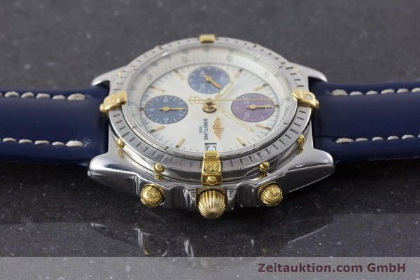Used luxury watch Breitling Chronomat chronograph steel / gold automatic Kal. B13 ETA 7750 Ref. B13050.1  | 160641 05