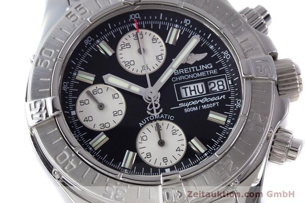 Used luxury watch Breitling Superocean Chronograph chronograph steel automatic Kal. B13 ETA 7750 Ref. A13340  | 160644 02