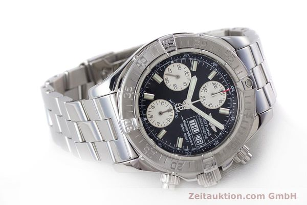 Used luxury watch Breitling Superocean Chronograph chronograph steel automatic Kal. B13 ETA 7750 Ref. A13340  | 160644 03