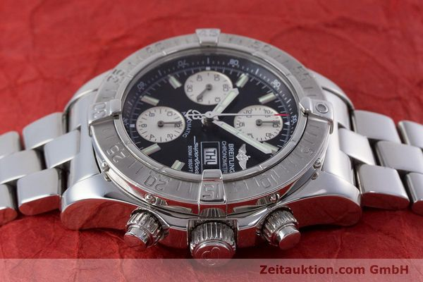 Used luxury watch Breitling Superocean Chronograph chronograph steel automatic Kal. B13 ETA 7750 Ref. A13340  | 160644 05