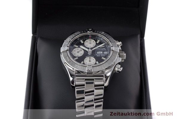 Used luxury watch Breitling Superocean Chronograph chronograph steel automatic Kal. B13 ETA 7750 Ref. A13340  | 160644 07