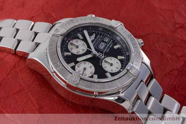 Used luxury watch Breitling Superocean Chronograph chronograph steel automatic Kal. B13 ETA 7750 Ref. A13340  | 160644 15