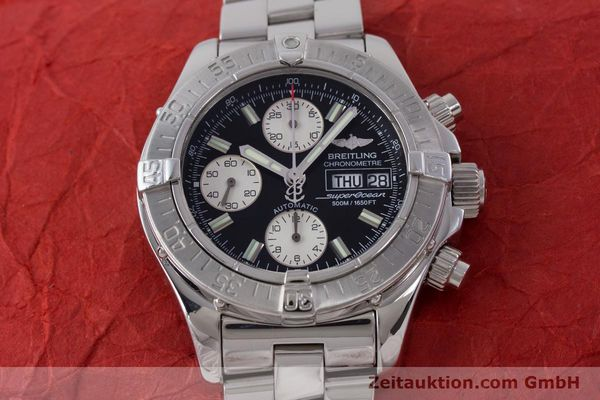 Used luxury watch Breitling Superocean Chronograph chronograph steel automatic Kal. B13 ETA 7750 Ref. A13340  | 160644 16