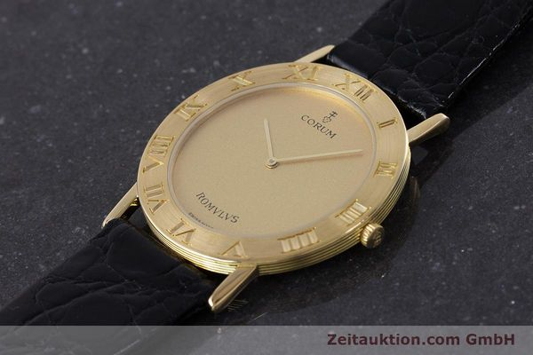 Used luxury watch Corum Romulus 18 ct gold quartz Kal. ETA 210.001 Ref. 50.501.56  | 160650 01