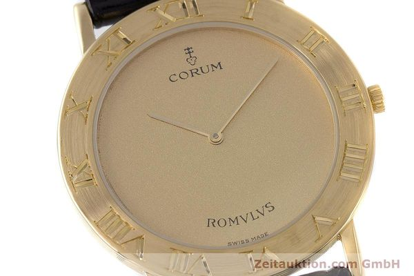 Used luxury watch Corum Romulus 18 ct gold quartz Kal. ETA 210.001 Ref. 50.501.56  | 160650 02
