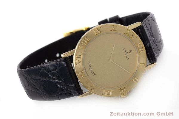 Used luxury watch Corum Romulus 18 ct gold quartz Kal. ETA 210.001 Ref. 50.501.56  | 160650 03