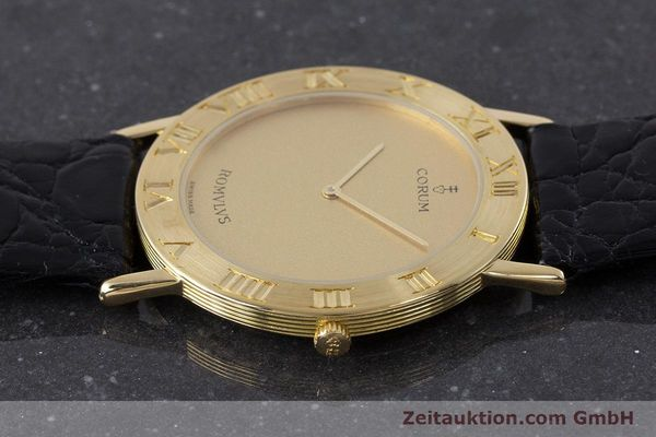 Used luxury watch Corum Romulus 18 ct gold quartz Kal. ETA 210.001 Ref. 50.501.56  | 160650 05