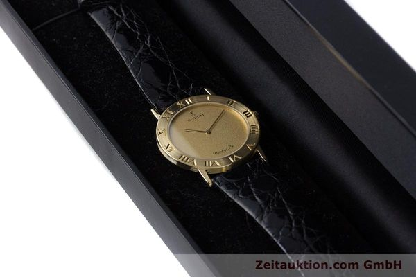 Used luxury watch Corum Romulus 18 ct gold quartz Kal. ETA 210.001 Ref. 50.501.56  | 160650 07