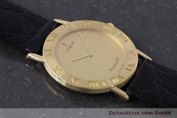 Used luxury watch Corum Romulus 18 ct gold quartz Kal. ETA 210.001 Ref. 50.501.56  | 160650 12