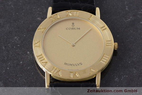 Used luxury watch Corum Romulus 18 ct gold quartz Kal. ETA 210.001 Ref. 50.501.56  | 160650 13