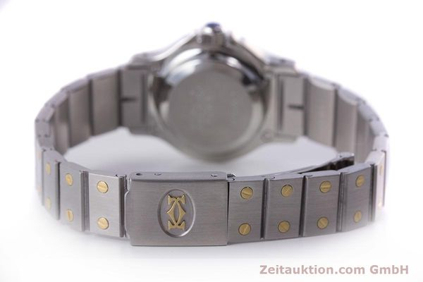Used luxury watch Cartier Santos steel / gold automatic Kal. ETA 2670  | 160653 10