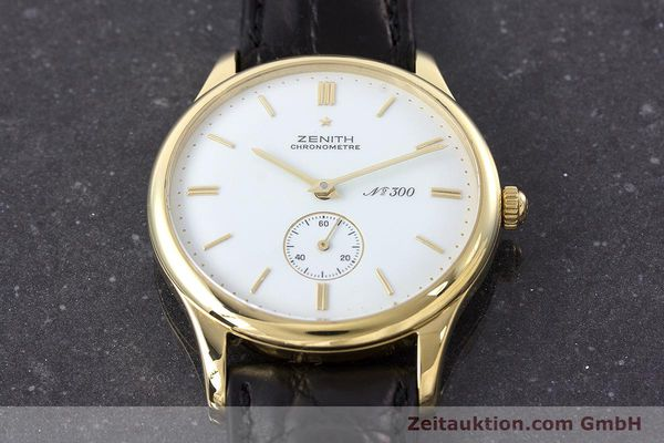 Used luxury watch Zenith Collection 125 18 ct gold manual winding Kal. 2541 Ref. 20.2125.113 LIMITED EDITION | 160654 17