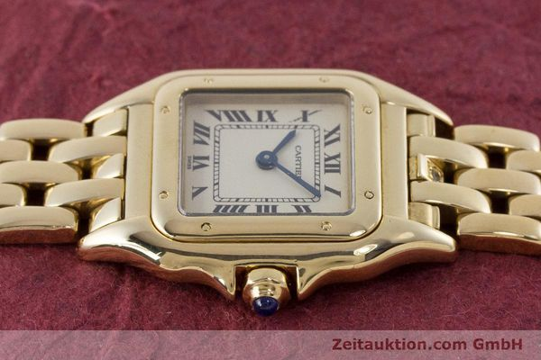 Used luxury watch Cartier Panthere 18 ct gold quartz Kal. 057  | 160662 05