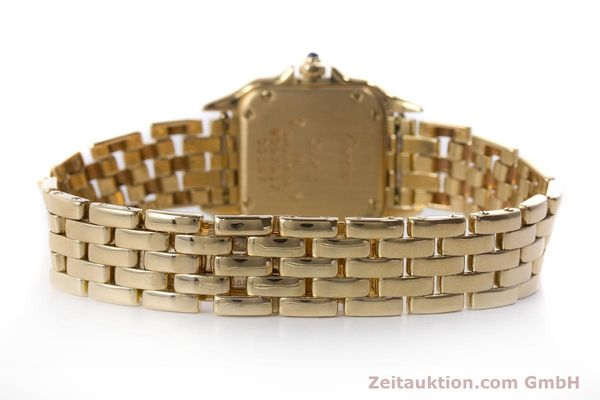 Used luxury watch Cartier Panthere 18 ct gold quartz Kal. 057  | 160662 11