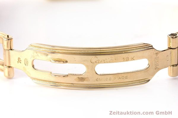 Used luxury watch Cartier Panthere 18 ct gold quartz Kal. 057  | 160662 12