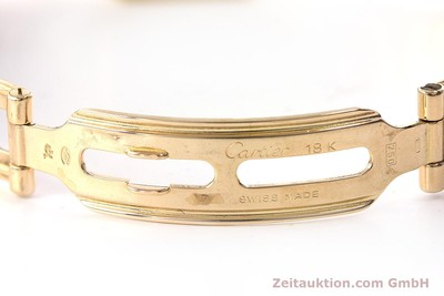CARTIER PANTHERE 18 CT GOLD QUARTZ KAL. 057 [160662]