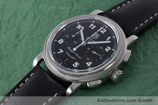 Used luxury watch Tag Heuer Targa Florio chronograph steel automatic Kal. 17 ETA 2894-2 Ref. CX2113 LIMITED EDITION | 160665 01