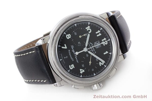 Used luxury watch Tag Heuer Targa Florio chronograph steel automatic Kal. 17 ETA 2894-2 Ref. CX2113 LIMITED EDITION | 160665 03