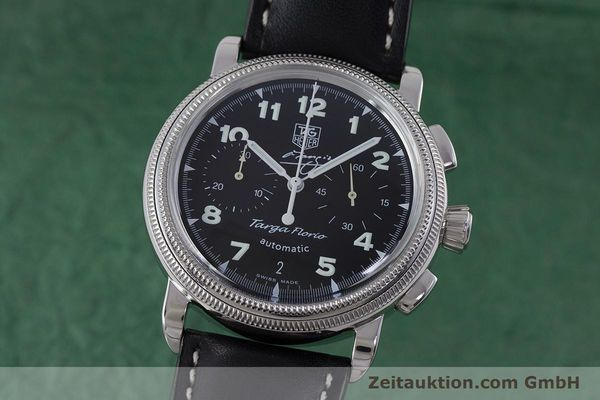 Used luxury watch Tag Heuer Targa Florio chronograph steel automatic Kal. 17 ETA 2894-2 Ref. CX2113 LIMITED EDITION | 160665 04