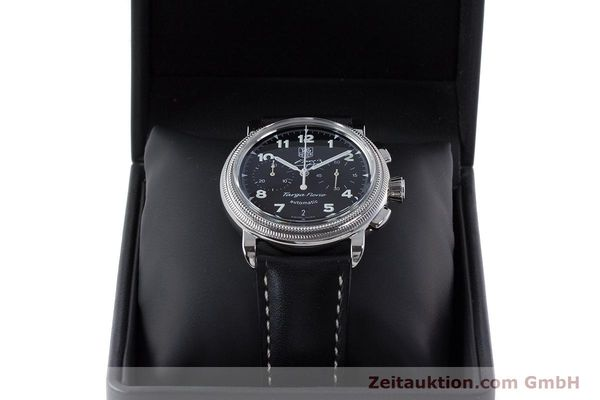 Used luxury watch Tag Heuer Targa Florio chronograph steel automatic Kal. 17 ETA 2894-2 Ref. CX2113 LIMITED EDITION | 160665 07