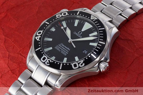 Used luxury watch Omega Seamaster steel automatic Kal. 1120 Ref. 225450000  | 160667 01