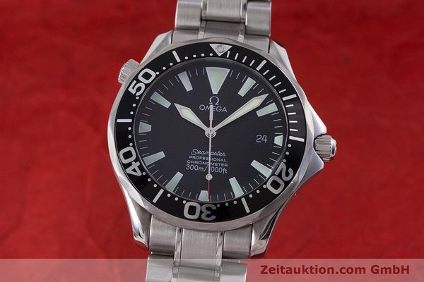 Used luxury watch Omega Seamaster steel automatic Kal. 1120 Ref. 225450000  | 160667 04