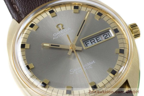 Used luxury watch Omega Seamaster 18 ct gold automatic Kal. 752 Ref. 186.049 VINTAGE  | 160670 02