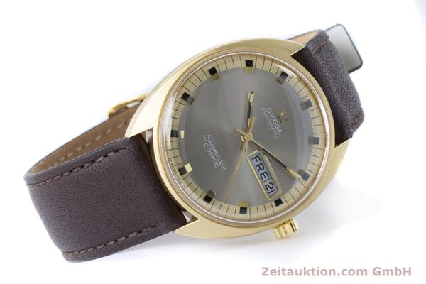 Used luxury watch Omega Seamaster 18 ct gold automatic Kal. 752 Ref. 186.049 VINTAGE  | 160670 03