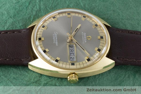 Used luxury watch Omega Seamaster 18 ct gold automatic Kal. 752 Ref. 186.049 VINTAGE  | 160670 05