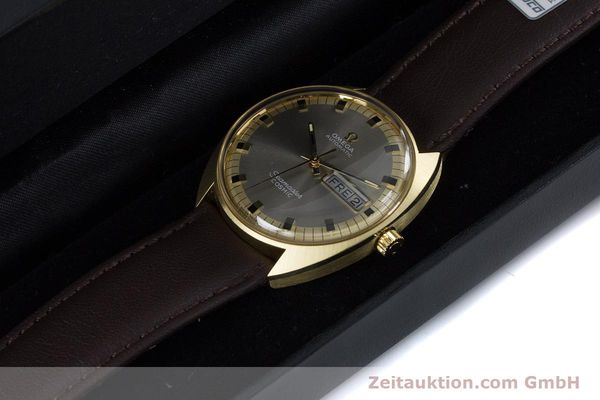 Used luxury watch Omega Seamaster 18 ct gold automatic Kal. 752 Ref. 186.049 VINTAGE  | 160670 07