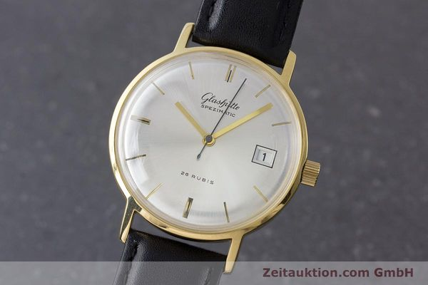 GLASHÜTTE SPEZIMATIC DORÉ AUTOMATIQUE KAL. 75 [160675]