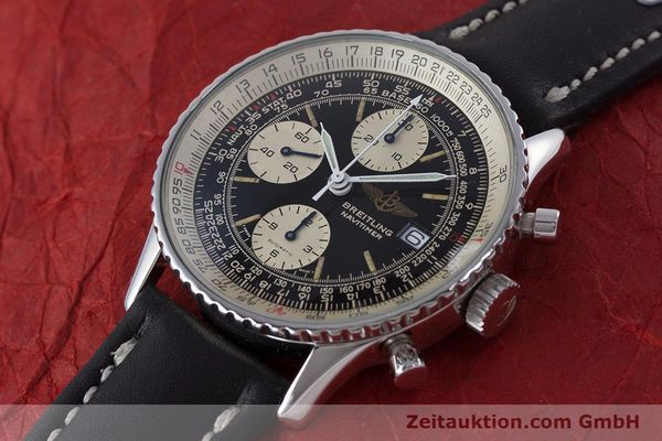 Used luxury watch Breitling Navitimer chronograph steel automatic Kal. ETA 7750 Ref. 81610  | 160681 01