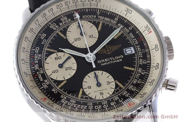 Used luxury watch Breitling Navitimer chronograph steel automatic Kal. ETA 7750 Ref. 81610  | 160681 02