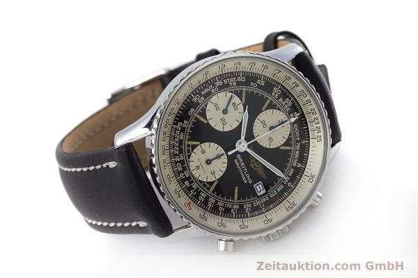 Used luxury watch Breitling Navitimer chronograph steel automatic Kal. ETA 7750 Ref. 81610  | 160681 03