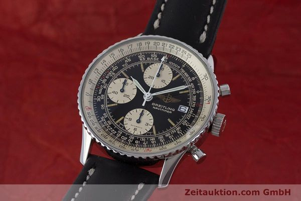 Used luxury watch Breitling Navitimer chronograph steel automatic Kal. ETA 7750 Ref. 81610  | 160681 04