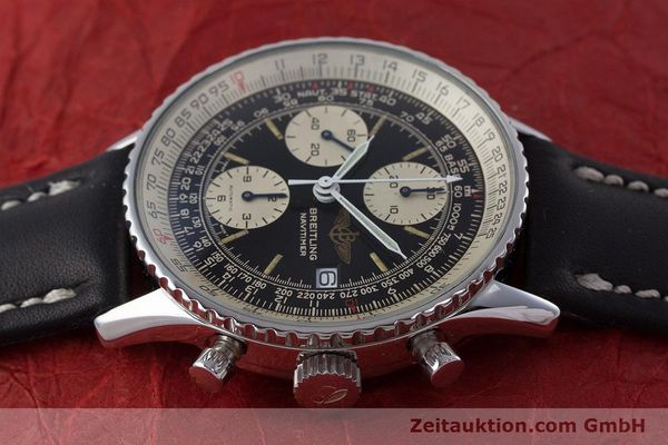 Used luxury watch Breitling Navitimer chronograph steel automatic Kal. ETA 7750 Ref. 81610  | 160681 05
