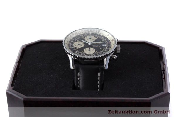 Used luxury watch Breitling Navitimer chronograph steel automatic Kal. ETA 7750 Ref. 81610  | 160681 07