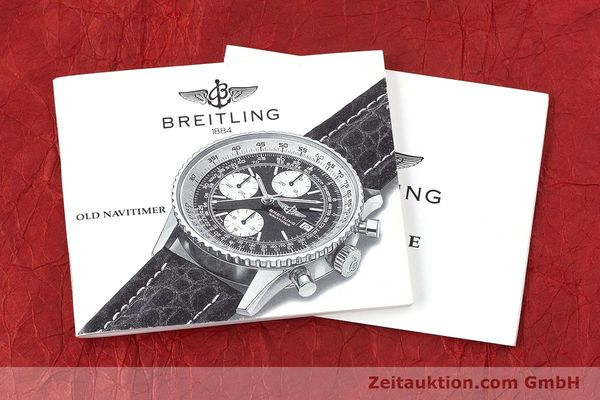Used luxury watch Breitling Navitimer chronograph steel automatic Kal. ETA 7750 Ref. 81610  | 160681 12