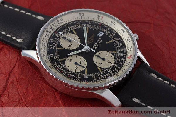 Used luxury watch Breitling Navitimer chronograph steel automatic Kal. ETA 7750 Ref. 81610  | 160681 14