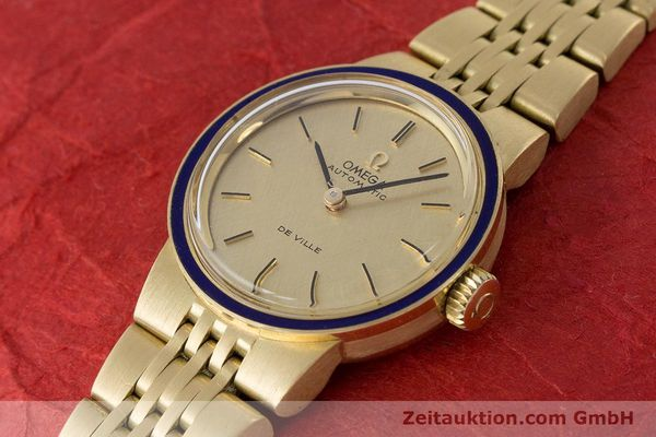 Used luxury watch Omega De Ville 18 ct gold automatic Kal. 671  | 160685 01
