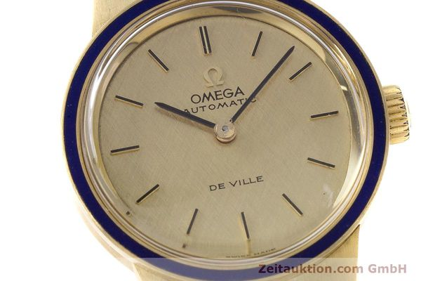 Used luxury watch Omega De Ville 18 ct gold automatic Kal. 671  | 160685 02
