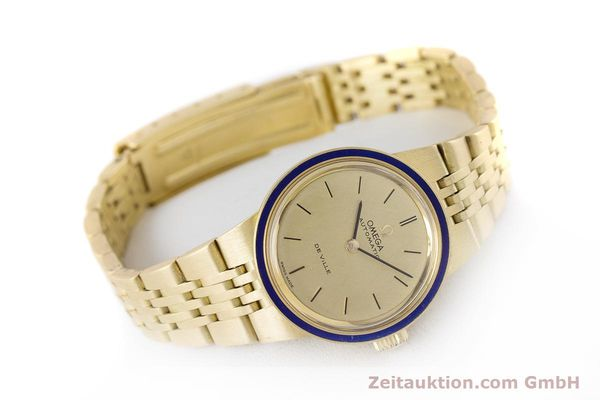Used luxury watch Omega De Ville 18 ct gold automatic Kal. 671  | 160685 03