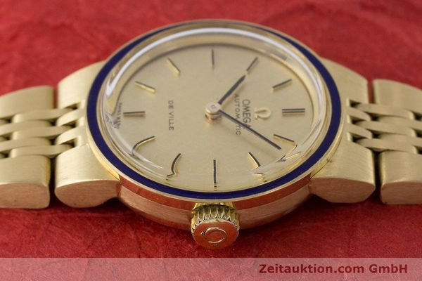 Used luxury watch Omega De Ville 18 ct gold automatic Kal. 671  | 160685 05