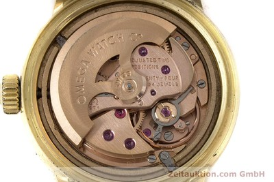 OMEGA DE VILLE 18 CT GOLD AUTOMATIC KAL. 671 LP: 13700EUR [160685]