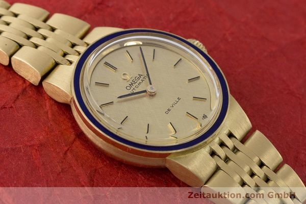 Used luxury watch Omega De Ville 18 ct gold automatic Kal. 671  | 160685 14