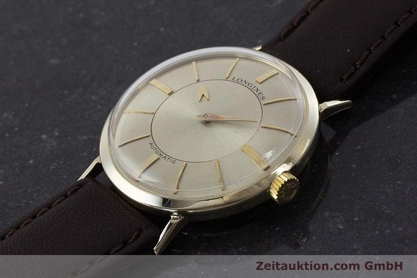 Used luxury watch Longines Admiral 14 ct yellow gold automatic Kal. 19A VINTAGE  | 160700 01